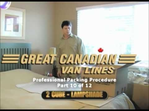 How to pack lampshades - Number 10 of 12 - Vancouver movers