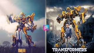 How To Make A Professional Movie Poster In Transformer || Hollywood Movie Style Poster In Viral🔥🔥 - YouTube