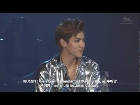 [ENG] EXO's funny nicknames - EXO SHOWCASE in Seoul - HD