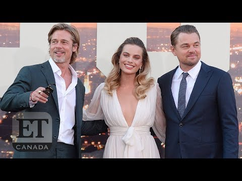 Brad Pitt And More Talk 'Once Upon A Time In Hollywood'