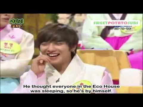 [ENG SUB] 100213 - SNSD Brings out Yonghwa's Accent!