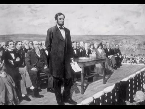 Abraham Lincoln Delivers The Gettysburg Address World