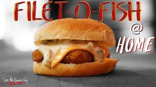 Homemade Filet-O-Fish Recipe   SAM THE COOKING GUY