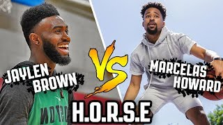 Jaylen Brown vs. Marcelas Howard | EPIC GAME OF