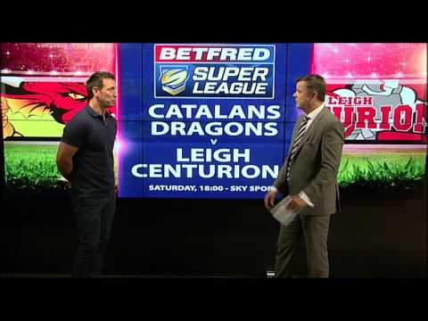 Catalans Dragons vs Leigh Centurions
