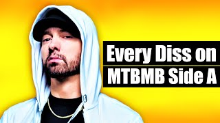 Every Diss On EMINEM's