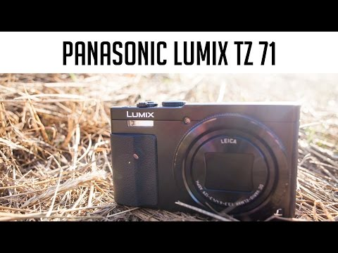 video Panasonic DMC-TZ71EG-S Lumix Kompaktkamera (12,1 Megapixel, 30-fach opt. Zoom, 7,6 cm (3 Zoll) LCD-Display, Full HD, WiFi, USB 2.0) silber