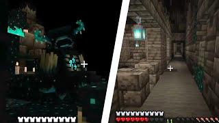 Minecraft 1.19 Wild Update   Ancient Cities & Warden Footage