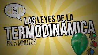 Las Leyes de la Termodinámica en 5 Minutos