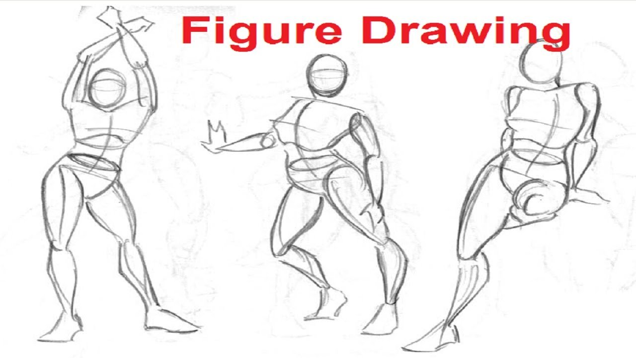 It is a graphic of Intrepid Body Form Drawing