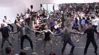 "42ND STREET | London rehearsals – ""Lullabye of Broadway"""