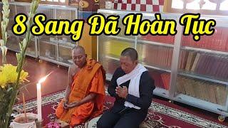 8 Sang sau 2 tuần tu gieo Duyên tại chùa Âng  sang nay 5. 3. 2021 xin phép HT hoàn tục