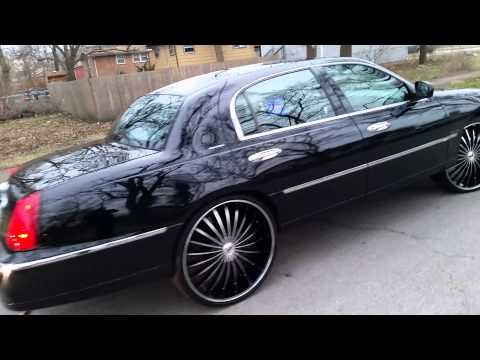01 Lincoln Town Car 95 Grand Marquis Bangin On 26 S Videomoviles Com