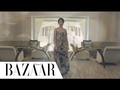 Di Balik Pemotretan Harper's Bazaar Young & Restless