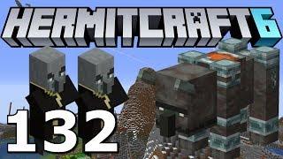 Hermitcraft 6: Wool Farm and Mountain Raids! (Minecraft 1.14.2 Ep. 132)