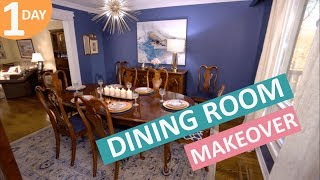 Dining Room Makeover in a Day | Scott's House Call (EP 14)