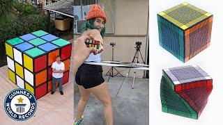 Insane Rubik's Cube world records - Guinness World Records