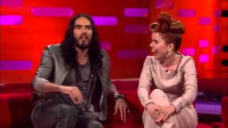 The Graham Norton Show 2012 S11x10 Emily Blunt, Russell Brand and Paloma Faith Part 2  YouTube