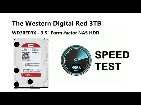 video WD Red 3TB Intellipower Sata3