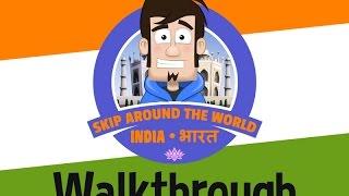 Skip Around the World   India - Walkthrough