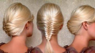 braided hairstyles for medium long hair  youtube