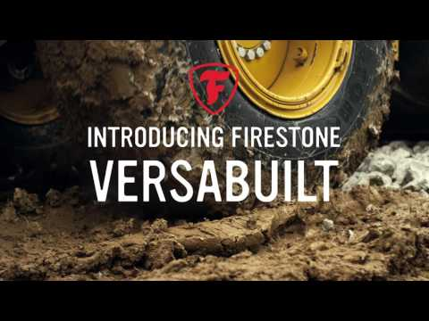 The Firestone VersaBuilt radial tire is designed to provide solid traction in loaders, graders and earthmovers, and perform across a variety of environments to keep jobsites operating efficiently.