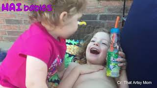 hilarious funny babies video,try not to laugh!lol challenge
