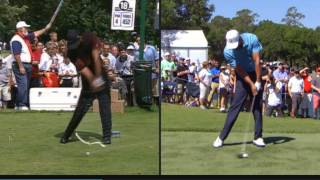 Brandel Chamblee analysis of Tiger's Swing 2000 vs 2015