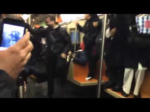 ვირთხა ნიუ-იორკის მეტროში (ვიდეო)