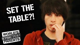 Teen Refuses to Eat and Set the Table | World's Strictest Parents