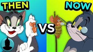 Then Vs. Now - Tom and Jerry - The Evolution of Tom and Jerry (Tooned Up S4 E37)