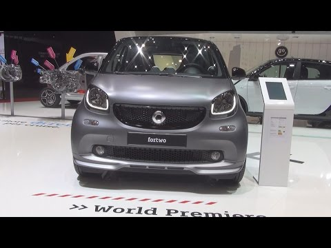 Smart Fortwo Coupé 66 kW Twinamic (2016) Exterior and Interior in 3D