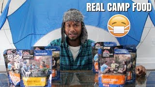 Trying CAMP FOOD For The First Time | Taste Test | Alonzo Lerone