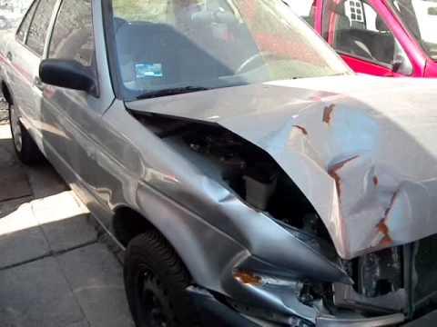Subasta De Carros >> AutoComercia Nissan Tsuru 2011 Accidentado - YouTube