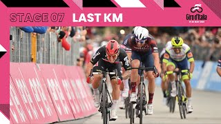 Giro d'Italia 2021   Stage 7   Last Km