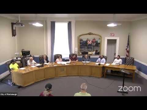 Plattsburgh Common Council Meeting  7-1-21