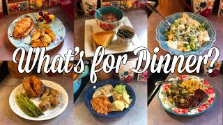 What's for Dinner?| Easy & Budget Friendly Family Meal Ideas| June 3-9, 2019