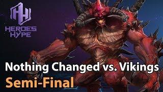 ► Heroes of the Storm: Nothing Changed vs. The Vikings - HeroesHype Premier Series