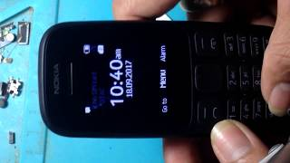 NOKIA 105 (TA-1034) Remove Sreen Lock Security Code - GSM Fix