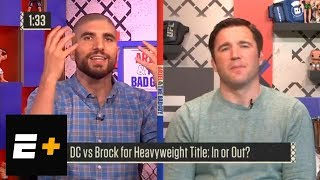 Daniel Cormier vs. Brock Lesnar for heavyweight title: In or out? | Ariel & The Bad Guy | ESPN