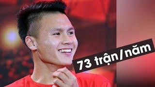 Quang Hải có thể đá đến 73 trận trong năm 2019