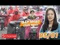 Siêu lạnh tại Trung Quốc: Chị em phụ nữ quấn chăn lái xe đi làm | GNCN 5/1