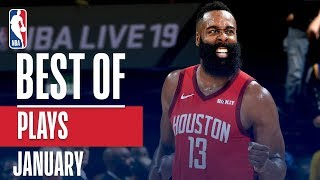 NBA's Best Plays | January 2018-19 NBA Season