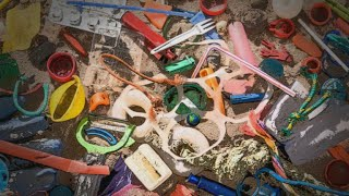 Drowning in plastic waste