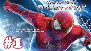 The Amazing Spider Man 2 – Movie Game Walkthrough – Part 1 (iOS)