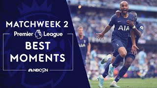 Best Premier League moments from 2019-20 Matchweek 2 | NBC Sports