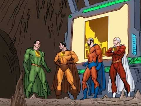 Idaho Potato Commission Retail Comic Video, Superhero Introductions