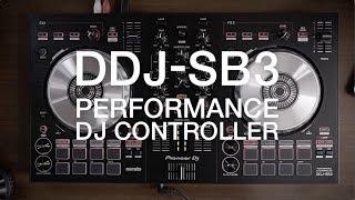PIONEER DJ DDJ-SB3 in action