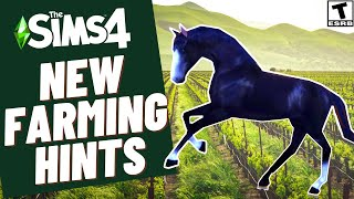 NEW FARMING HINTS- SIMS 4 SPECULATION & NEWS 2021
