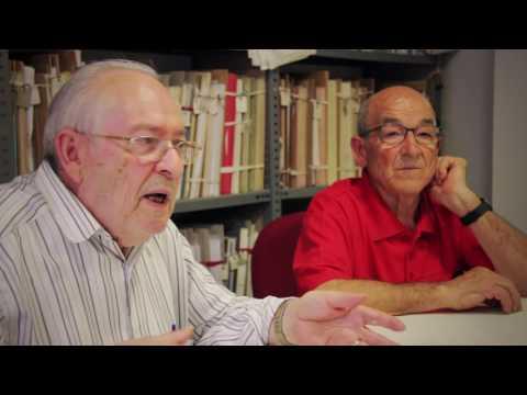 Entrevista a Fernando Codina y Juan Pelegrí, archiveros de la Sociedad Musical Instructiva Santa Cecilia de Cullera
